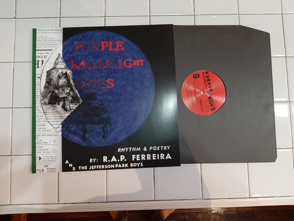 purple moonlight pages double LP vinyl