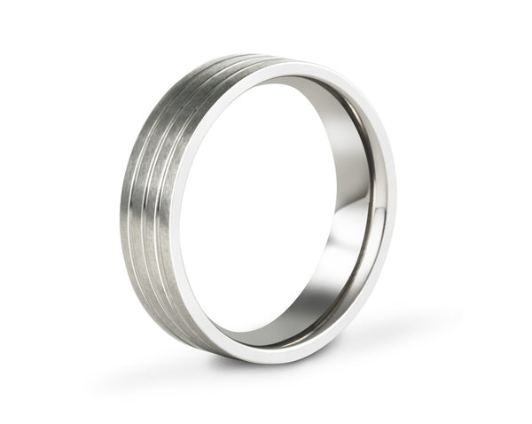 lightweight wedding bands