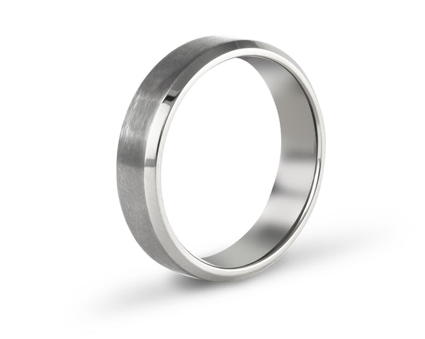 modern men's wedding bands