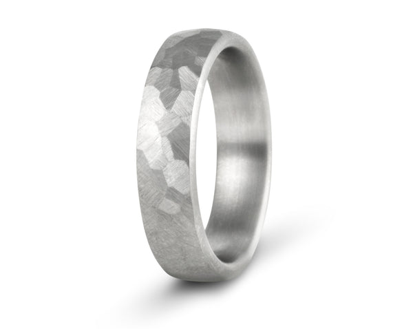 turtleshell titanium wedding ring