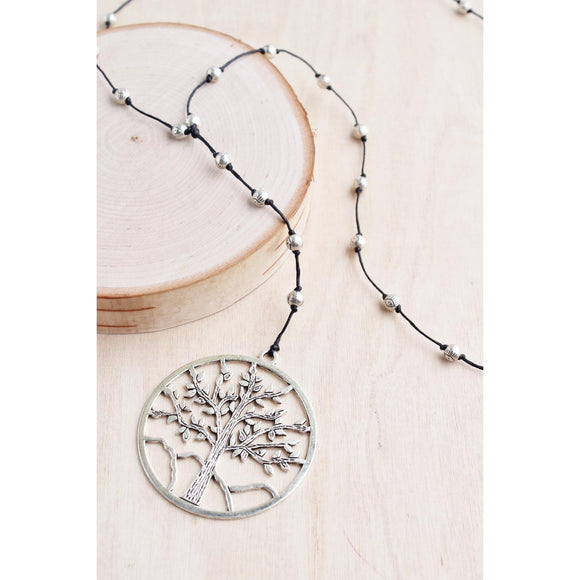 Bali Queen Tree of Life Large Necklace