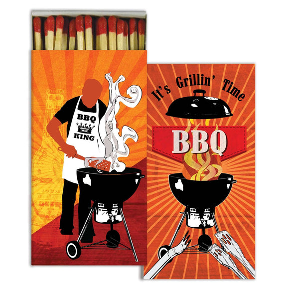 Matches - It's Grillin' Time BBQ King