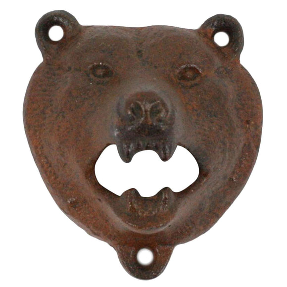 Bear Bottle Opener Rust