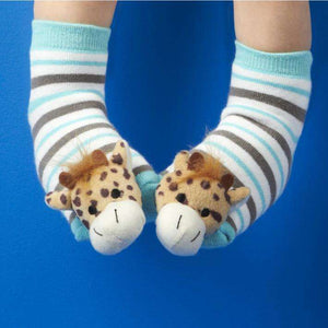 Animal Baby Rattle Socks Asst 4 Designs Assorted 4 Designs