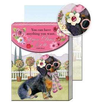 Pocket Notepad Dressy Dachshund