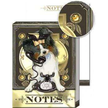 Pocket Notepad Telephone Chihuahua
