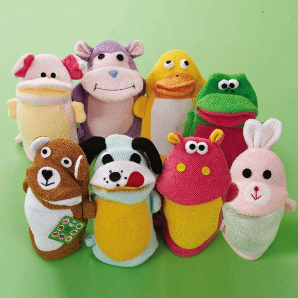 Bath Buddy Animal Terry Cloth Wash Mitt 8 Designs