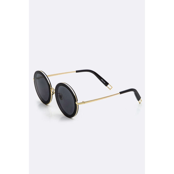 LA Jewelry Fashion Round Sunglasses 7 Colors