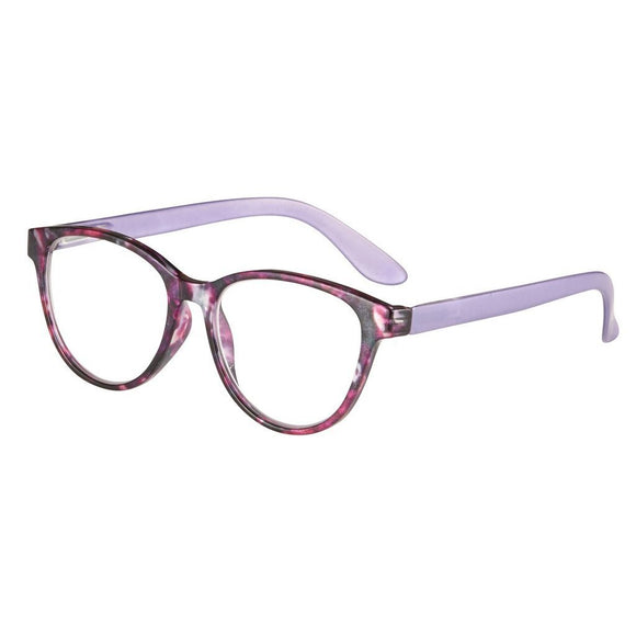 Eye Candy Gardena Reader Mixed Purple Frames Purple Temples