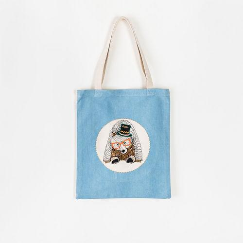 Bear Bag, Fabric, 14