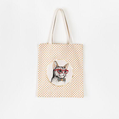 Cat Bag, Fabric, 14