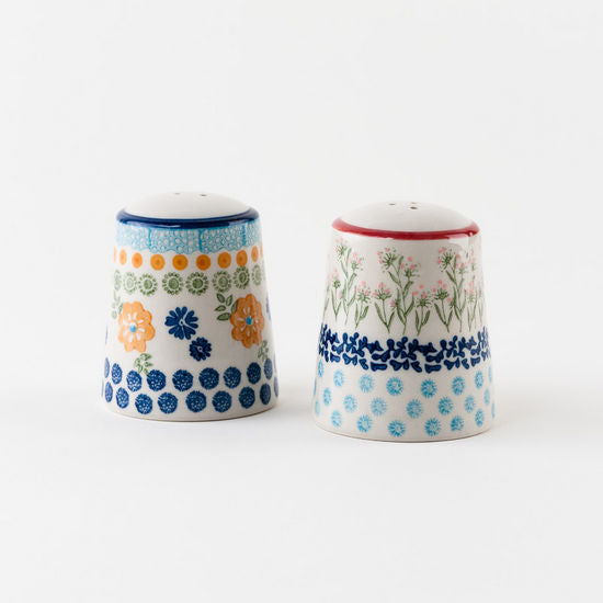 Chelsea Park Stoneware Salt & Pepper Shakers 2.75