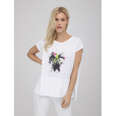 Lisa Todd Love Fest Tee Printed Heart