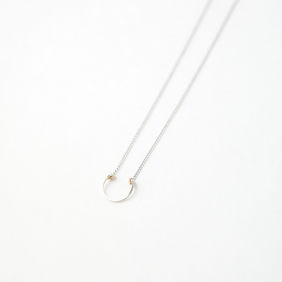 Sarah Briggs Chloe Necklace in Sterling Silver