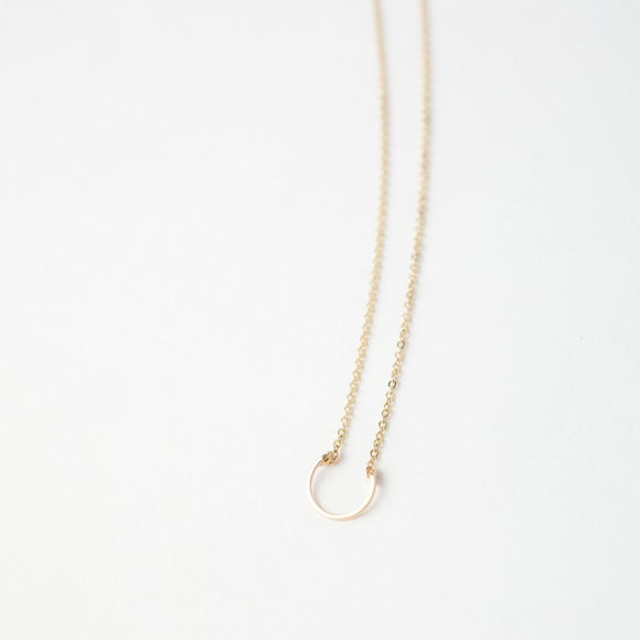 Sarah Briggs Chloe Necklace in 14kgf