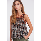 Free People Lucky Coin Tank Neutral Combo