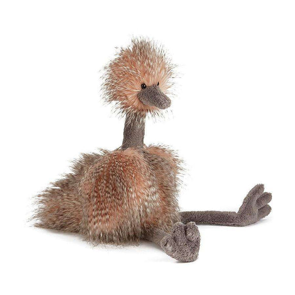Jellycat Odette Ostrich (Mad Pets)3 Sizes