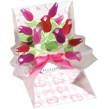 Bouquet of Roses Popup Card Multi Event