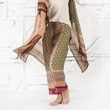 2 Chic Moorish Pattern Pant with Drawstring