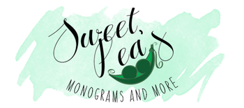 Sweet Pea's Monograms