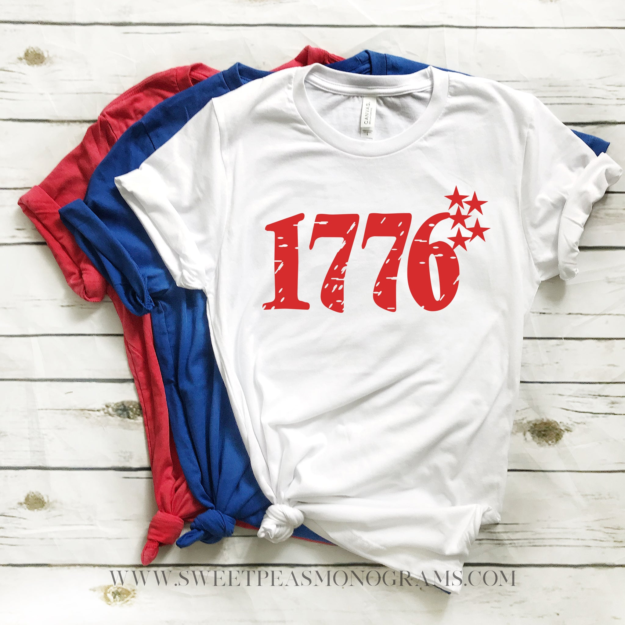 1776 American Graphic Tee