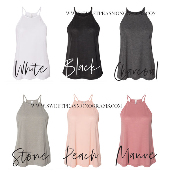 High Neck Tank color chart