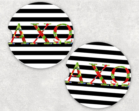 Alpha Chi Omega Car Coasters