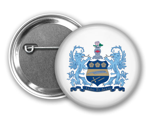 Alpha Xi Delta Pin Back Button