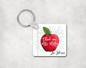 Custom Apple Keychain