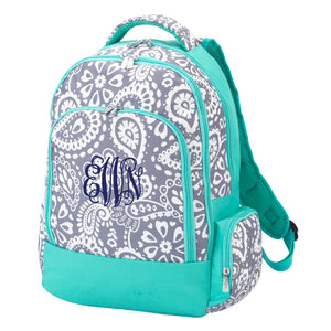 Personalized Backpack - Paisley