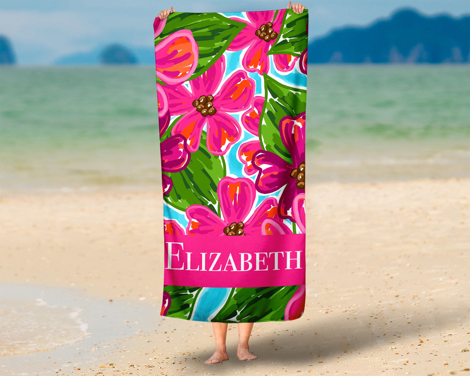 Personalized Beach Towel