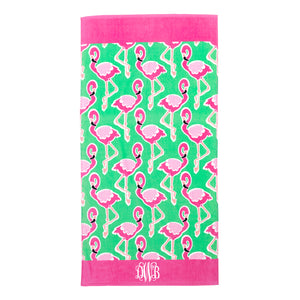 Monogram Beach Towel
