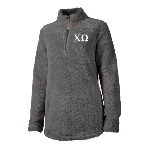 Chi Omega Sherpa Pullover