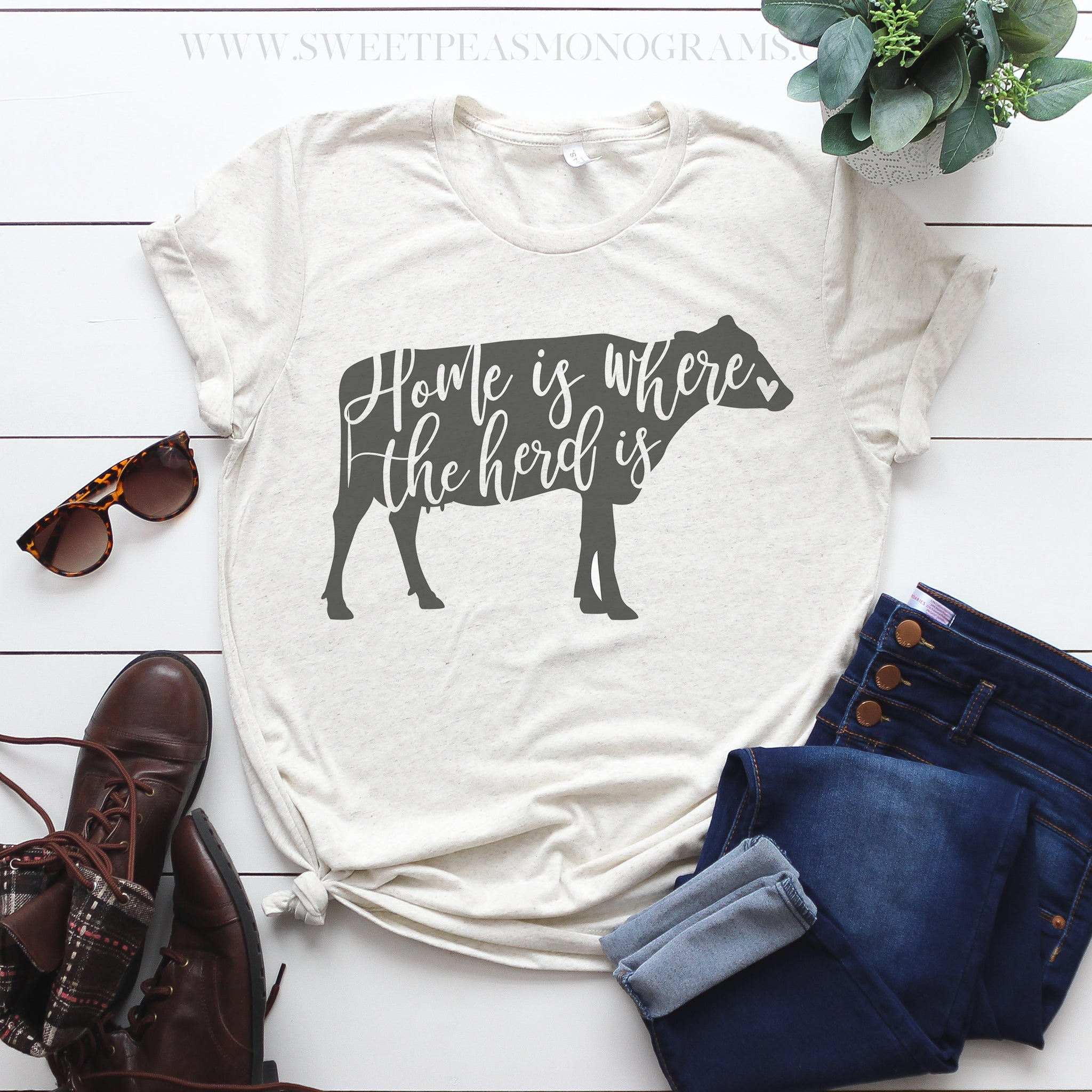 Home is Where the Herd is Graphic Tee