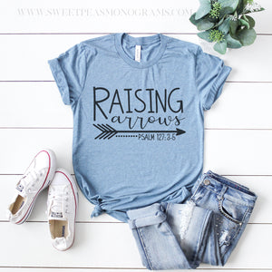 Raising Arrows Psalm 127: 3-5 Graphic Tee