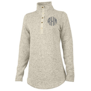 Monogram Hingham Tunic in Oatmeal