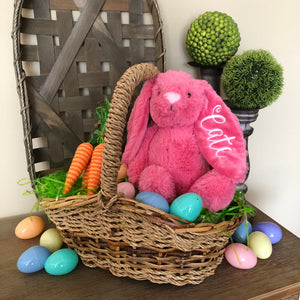 Custom Embroidered Easter Bunny