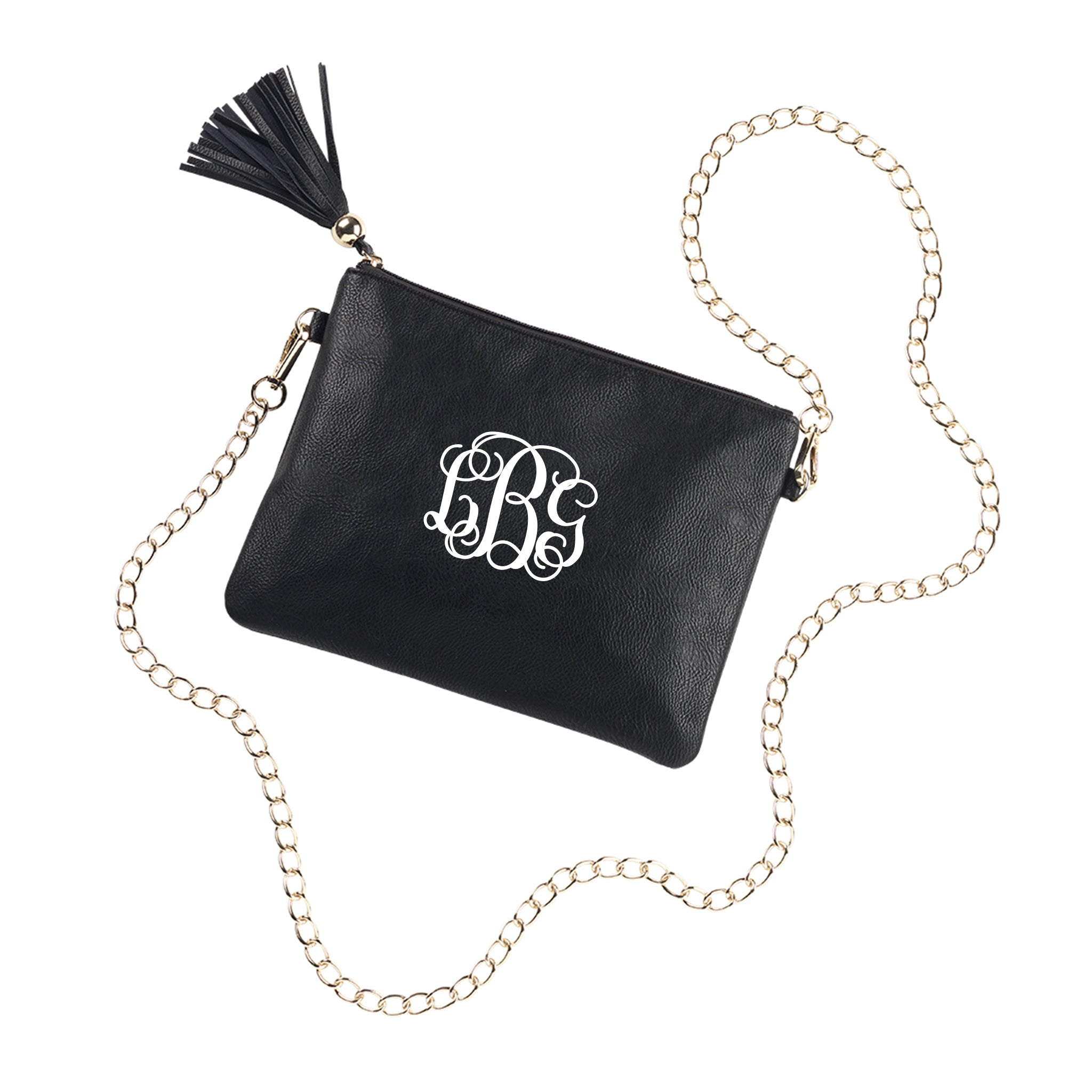 Monogram Kendall Purse in Black