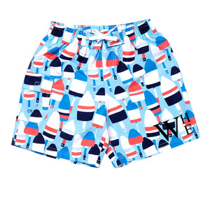 Monogram Boys Swim Trunk