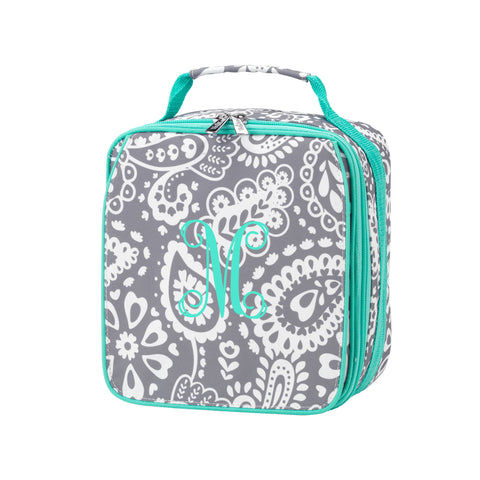 Personalized Lunchbox - Paisley