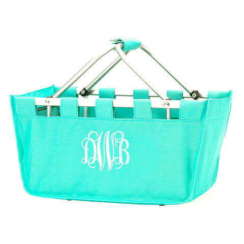 Monogram Market Tote in Mint