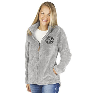 Monogram Newport Full Zip Jacket - Grey
