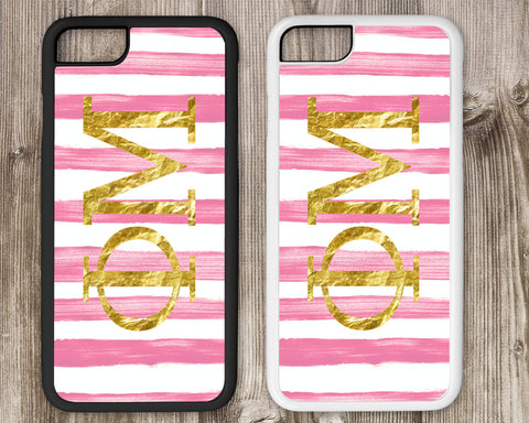 Phi Mu Cell Phone Case