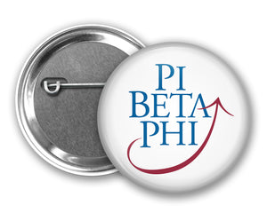Pi Beta Phi Pin Back Button