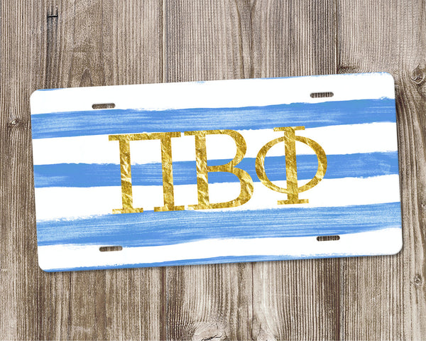 Pi Beta Phi License Plate