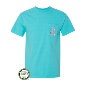 Delta Gamma Anchor Pocket Tee