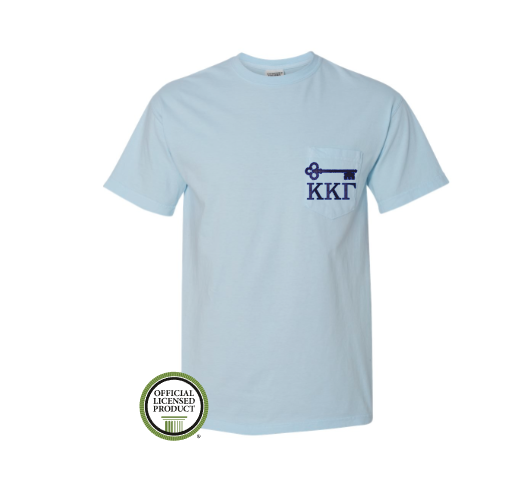Kappa Kappa Gamma Key Pocket Tee