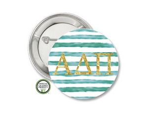 Alpha Delta Pi Pin Back Button