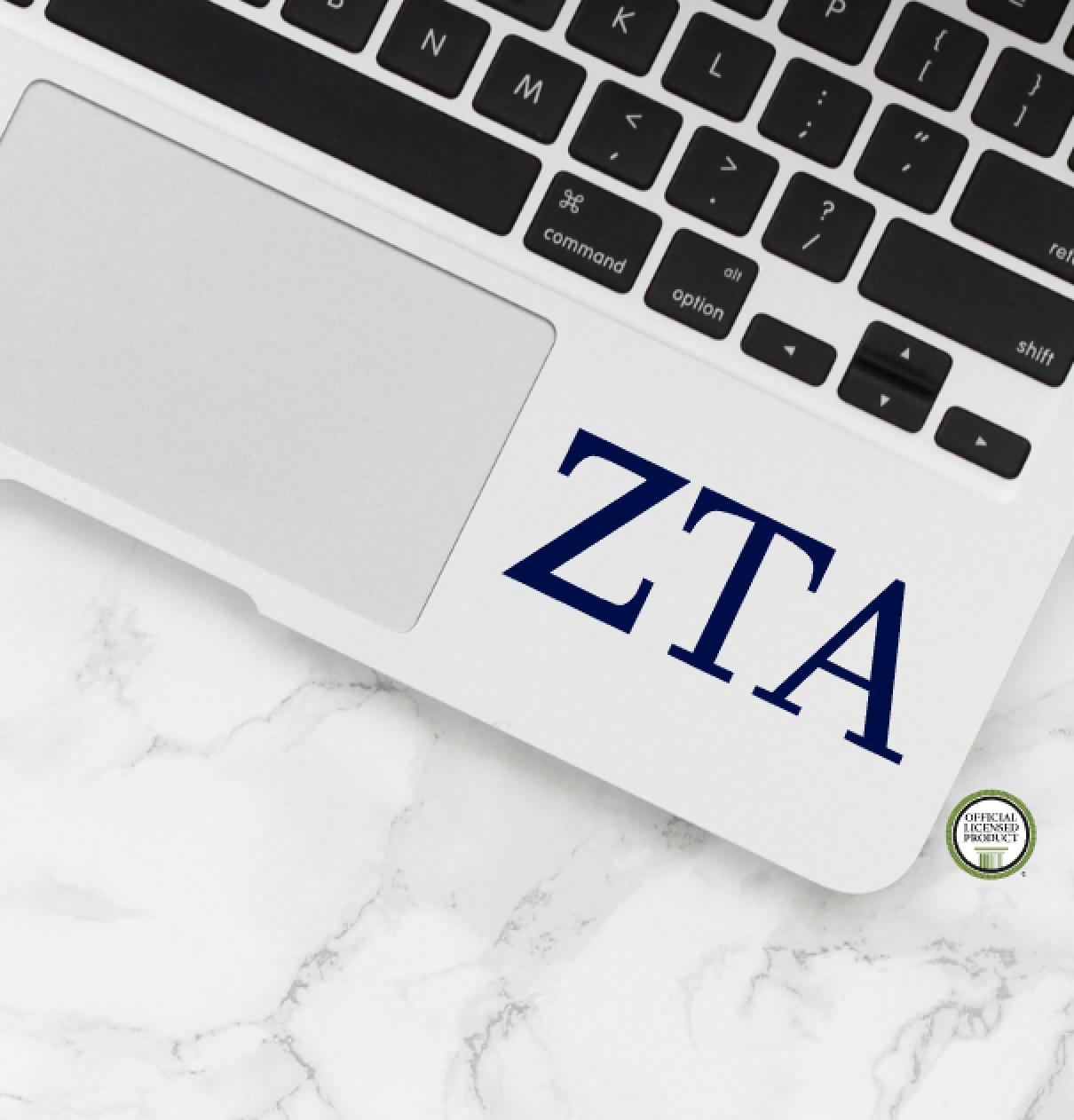 Zeta Tau Alpha Decal
