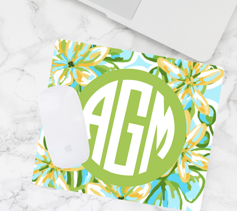 Monogram Mouse Pad